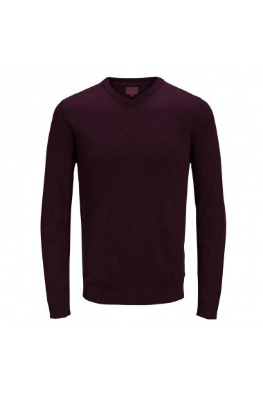 Pulover JACK & JONES GFM208 bordo