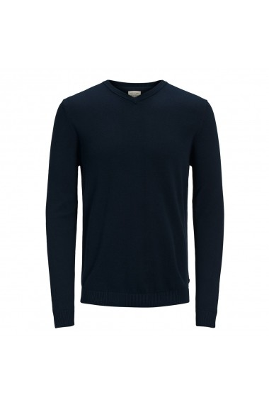 Pulover JACK & JONES GFM208 bleumarin