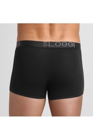 Set 3 perechi boxeri SLOGGI GFQ425 negru