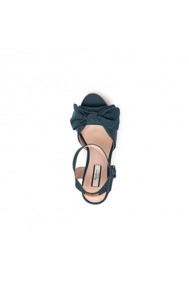 Sandale cu platforma PEPE JEANS GGM791 albastru