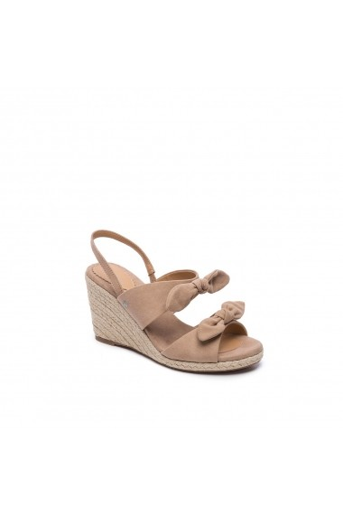 Sandale cu platforma PEPE JEANS GGM802 bej