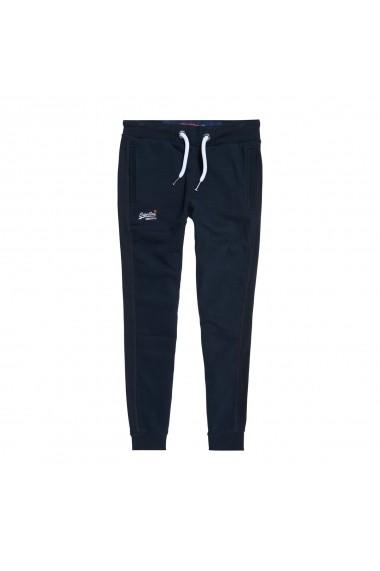 Pantaloni sport SUPERDRY GFT956 bleumarin