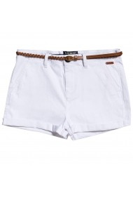 Pantaloni scurti SUPERDRY GGM564 alb