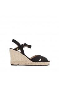 Sandale cu platforma LE TEMPS DES CERISES GGH350 negru