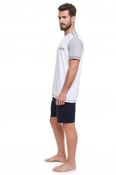 Pijama Lee Cooper MAS-LC00010612 Alb