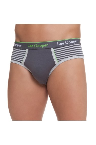 Slip Lee Cooper MAS-LCM00361/A Gri - els