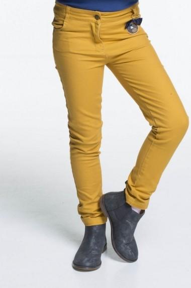 Pantaloni Rosalita Senoritas 6116431813 galben - els