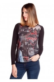 Bluza Missing Johnny 4116050437 multicolor - els