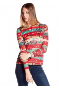 Bluza Missing Johnny 4116140437 multicolor - els