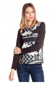Bluza Missing Johnny 4116760437 multicolor - els