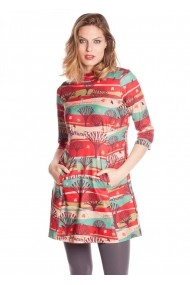Rochie Missing Johnny 4116140337 multicolor - els
