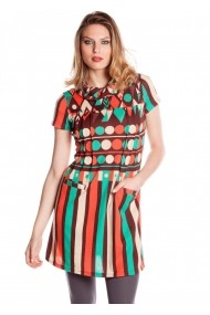Rochie Missing Johnny 4116150337 multicolor - els