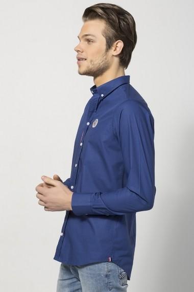 Camasa Jimmy Sanders MAS-JSSHM301 NAVY BLUE bleumarin - els