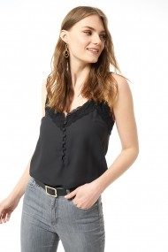 Top Jimmy Sanders 19S SHTW53027 Negru