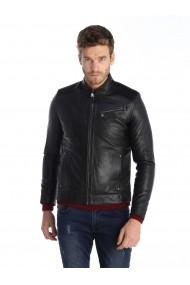 Jacheta din piele Sir Raymond Tailor SI4747901 negru