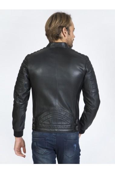Jacheta din piele Sir Raymond Tailor SI1743610 Negru