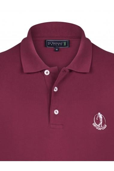 Tricou Polo Sir Raymond Tailor SI3057606 bordo