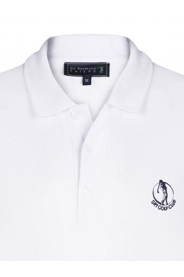 Tricou Polo Sir Raymond Tailor SI4563658 alb