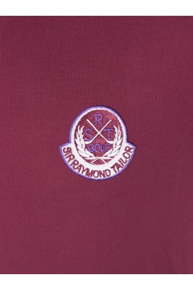 Tricou Polo Sir Raymond Tailor SI1313206 bordo