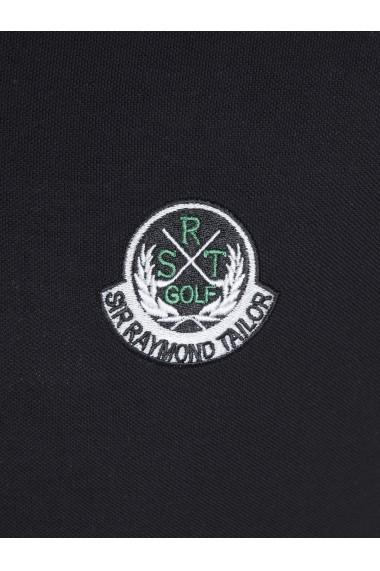 Tricou Polo Sir Raymond Tailor SI4967916 negru