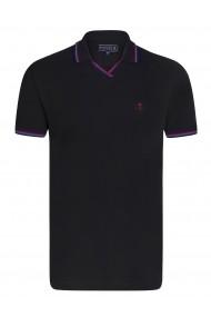 Tricou Polo Sir Raymond Tailor SI3120256 negru