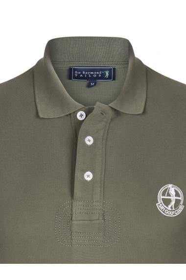 Tricou Polo Sir Raymond Tailor SI4325637 kaki