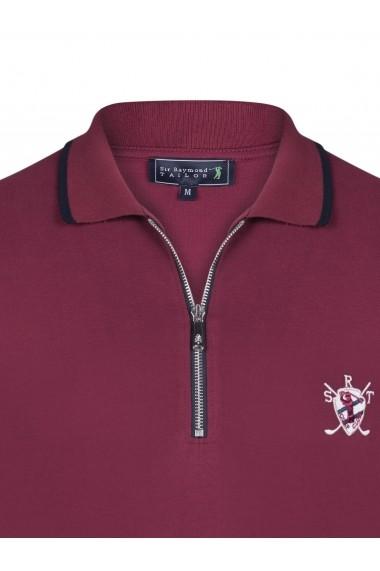 Tricou Polo Sir Raymond Tailor SI5568007 bordo