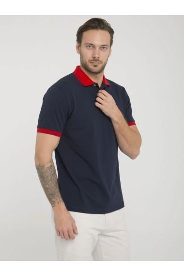 Tricou Polo Sir Raymond Tailor MAS-SI3391730 Bleumarin