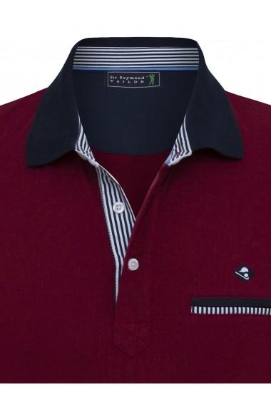 Tricou Polo Sir Raymond Tailor SI1325680 Bordo