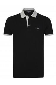 Tricou Polo Sir Raymond Tailor SI4977666 negru