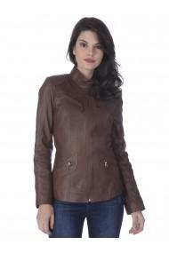 Jacheta din piele Sir Raymond Tailor SI3177330 Maro
