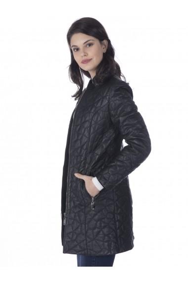 Jacheta din piele Sir Raymond Tailor SI6109204 Negru