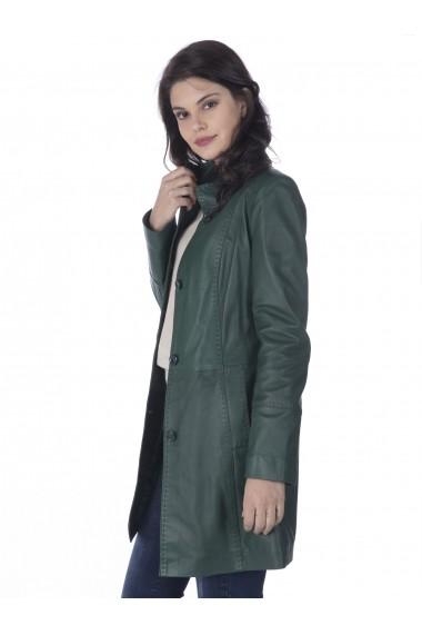 Jacheta din piele Sir Raymond Tailor SI5649401 Verde