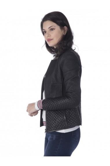 Jacheta din piele Sir Raymond Tailor SI752110 Negru