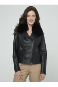 Jacheta din piele Sir Raymond Tailor SI3082584 Negru