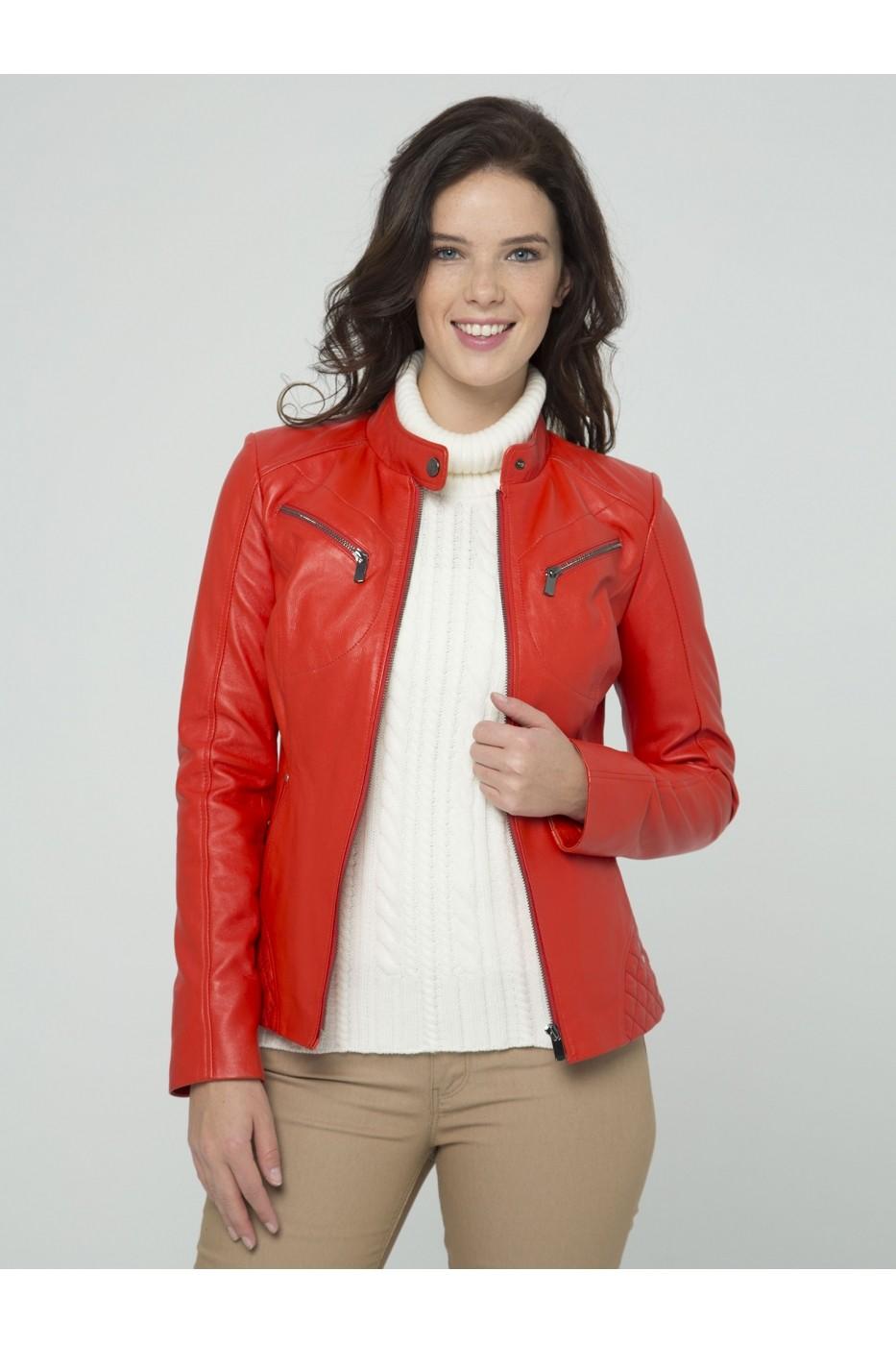 ac581422e1f Кожено яке Sir Raymond Tailor MAS-SI5751327 червено - FashionUP!