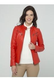 Jacheta din piele Sir Raymond Tailor SI5751327 Rosu