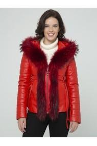 Jacheta din piele Sir Raymond Tailor SI6416249 Rosu