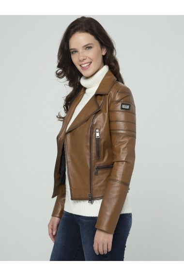 Jacheta din piele Sir Raymond Tailor SI3220008 Maro