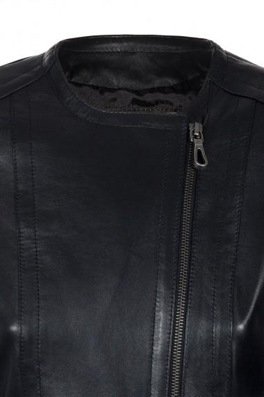 Jacheta din piele IPARELDE CMSB03 Negru