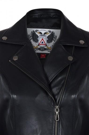 Jacheta din piele IPARELDE CMSB06 Negru