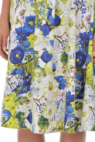 Fusta cu pliuri S122 Floral