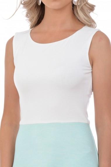 Rochie tricot M25-15 Crem