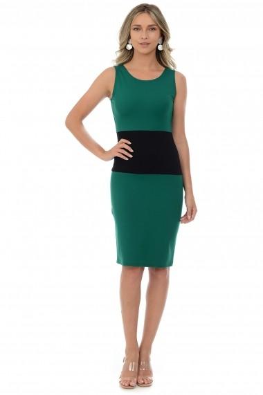 Rochie tricot M25-16 Verde