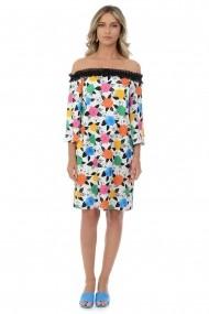 Rochie cu dantela M40-18 Multicolor