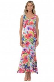 Rochie de seara tafta elastica M400-34 Multicolor