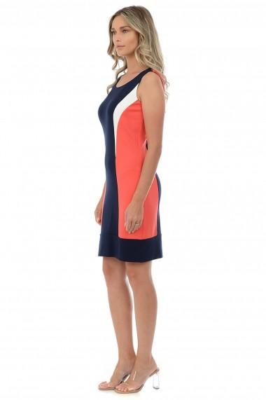 Rochie tricot M25-48 Negru