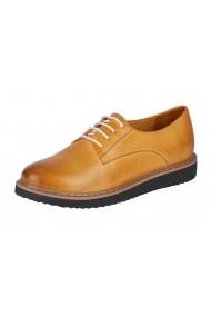 Обувки Andrea Conti HNE-98085933 Жълт