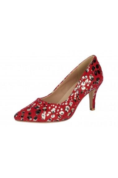 Pantofi cu toc cu toc Andrea Conti 33241103 rosu