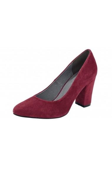 Pantofi cu toc Andrea Conti 078973 bordo